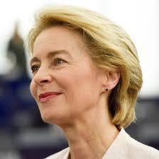 Ursula von der Leyen Presidente della Commissione europea