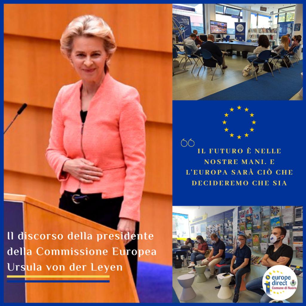 Il primo Discorso sullo stato dell'Unione della Presidente Ursula von der Leyen