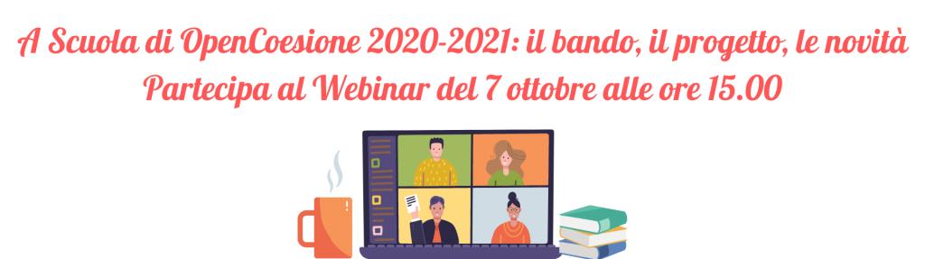 Webinar di presentazione dell'edizione 2020-2021 di ASOC