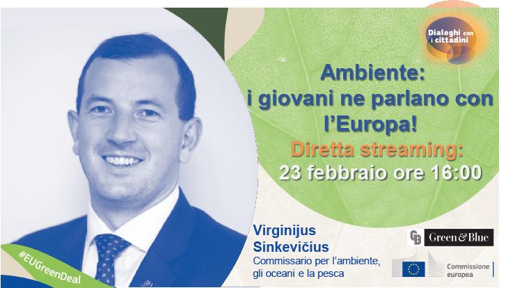 Ambiente: i giovani ne parlano con l'Europa!