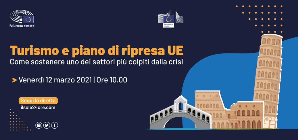 Diretta streaming – Turismo e piano di ripresa UE: come sostenere uno dei settori più colpiti dalla crisi