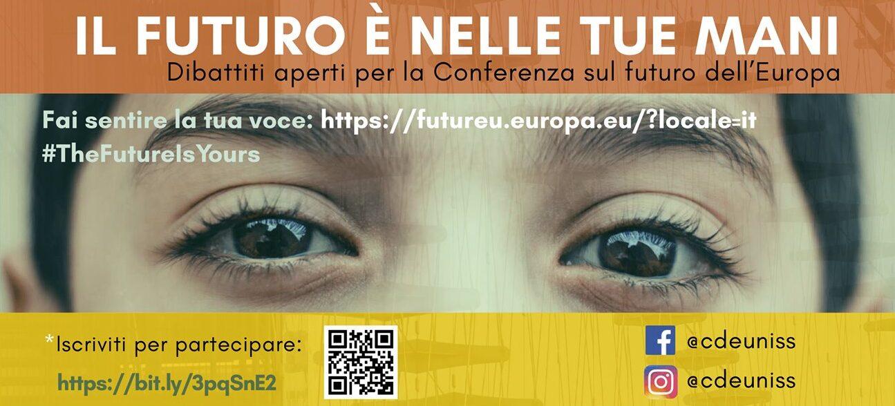 Conferenza sul Futuro dell'Europa: due dibattiti con le università.