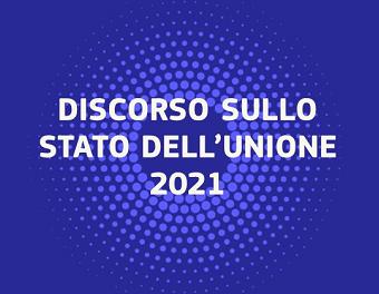 SOTEU 2021: Rafforzare l'anima dell'Europa
